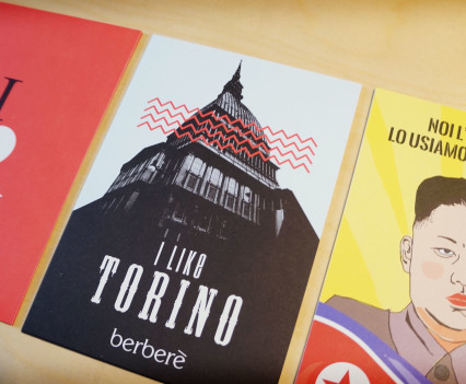 Berberè Torino - postcards